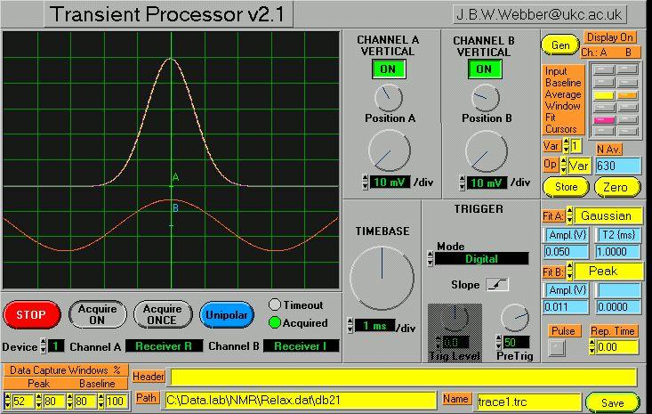 Lab-Tools : Transient Processor