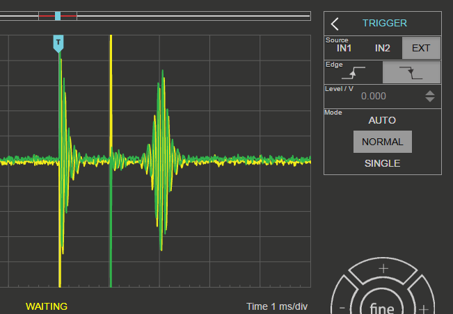 Signal acquiring on fast ADC using external trigger - Redpitaya Forum